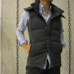 wjk sleeveless separate hood – heavy wool serge 2008 wl28 2colors