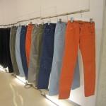 wjk 2013 S/S collection 色味の豊かなカラーパンツ襲来!!<br>color 3D SLIM straight  PAINT<br>color banana shoe-cut PAINT