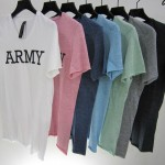 the ARMY by wjk – light jersey with cow leather 7059 lj44 9 colors (再入荷)
