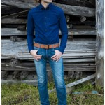 wjk B.D. shirts – selvage chambray 4024 dn17 2 colors