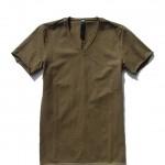 wjk V-neck S/S – compact jersey 7794 lj40