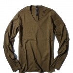 wjk V-neck L/S – compact jersey 7786 lj40