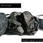 Back pack & Shoulder Bag