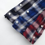 ombre check wire shirts 4411 ch71