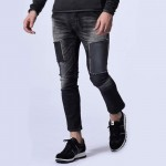 stretch slim cigarette denim