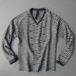 zigzag border P/O knit